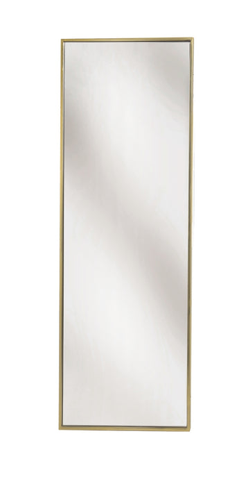 Mirror, Rectangular Brass Wall Mirror