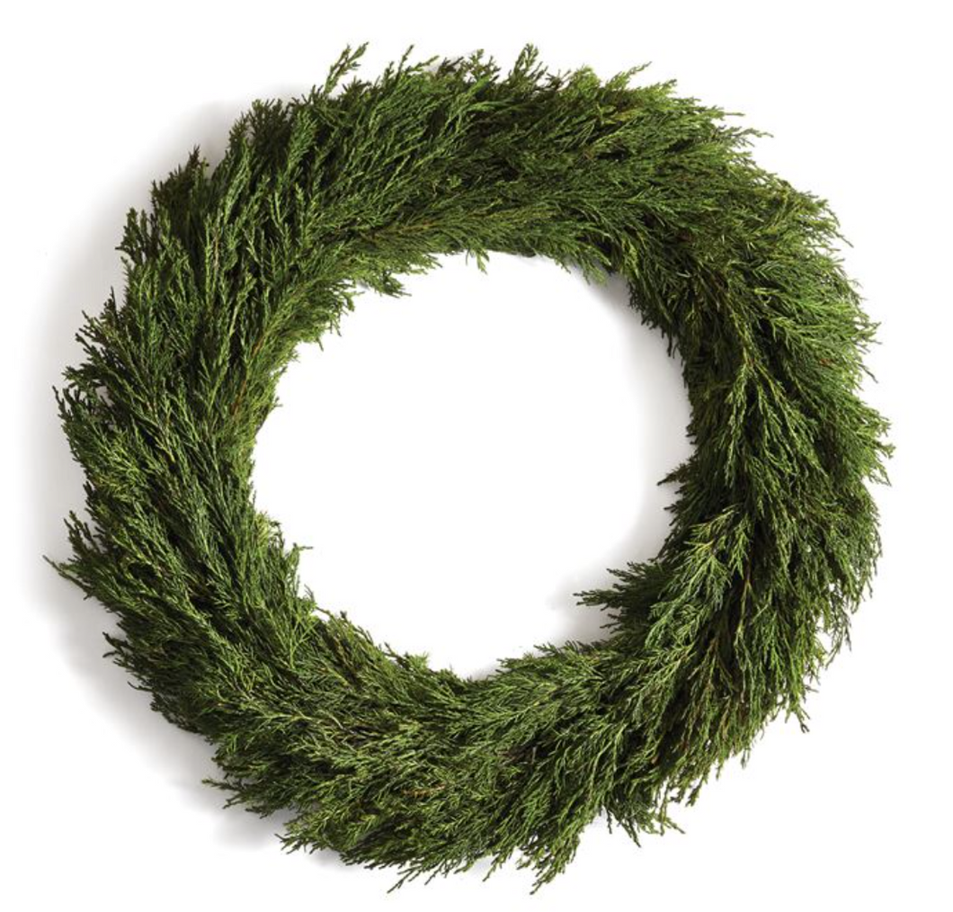 Wreath, Cypress