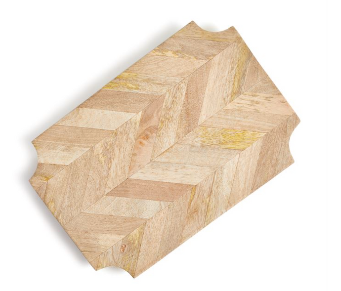 Board, Serving Rectangular Marquetry