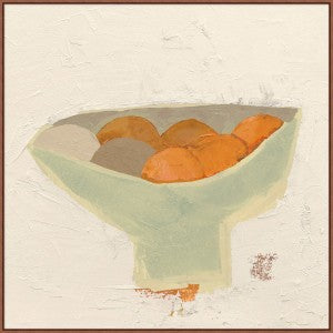 Art, Abstract Fruit Bowl