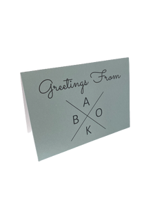 BAKO, Greeting Card