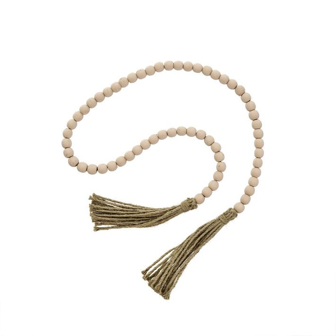 Beads, Tassel Prayer Pink