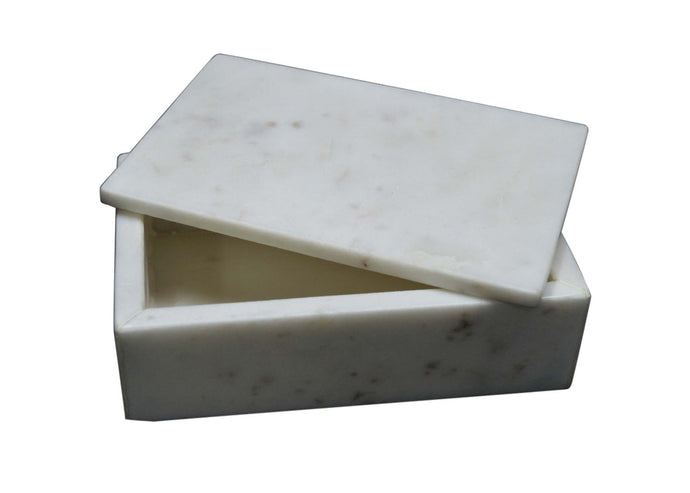 Box, Marble Rectangular