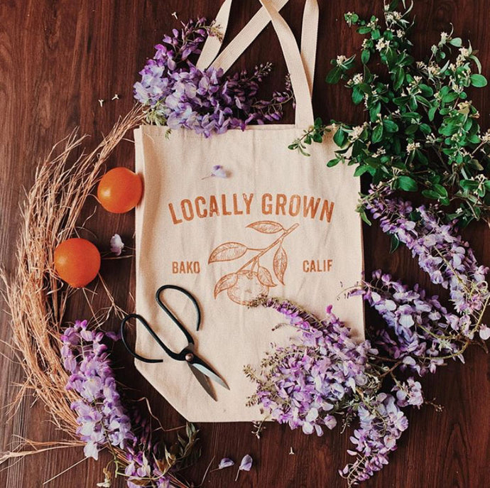 Locally Grown Bako, Tote