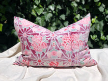Load image into Gallery viewer, Pillow, Vintage Chinese Floral Star