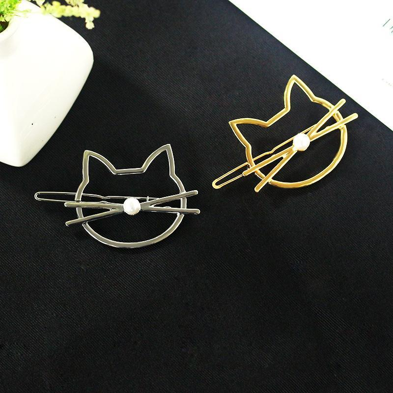 CUTE KITTY HAIR CLIPS