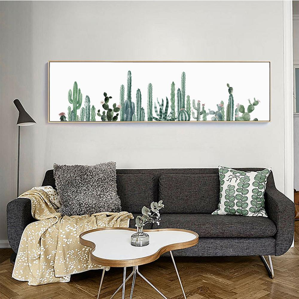 Cactus Canvas Wall Art