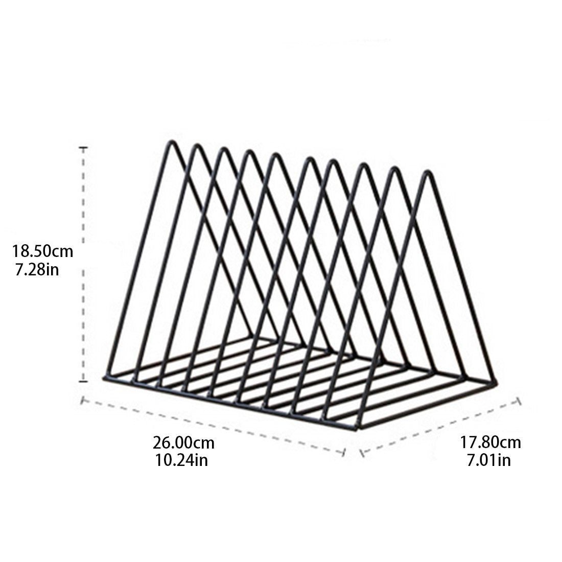 Metal Triangle File Holder
