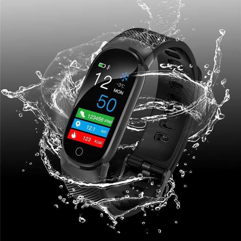 Icool Women Smart Watch Sport Pedometer Smartwatch Blood Pressure Oxygen Heart Rate Monitor Fitness Tracker Call Alarm Reminder