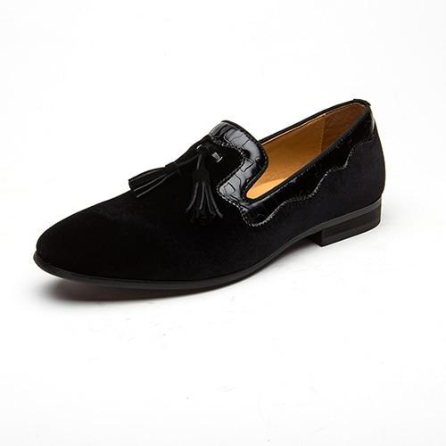 Genuine Leather Moccasins Comfy Breathable Slip On