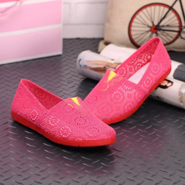 Women Shoes Spring Summer Soft Insole Ladies Flat Shoes