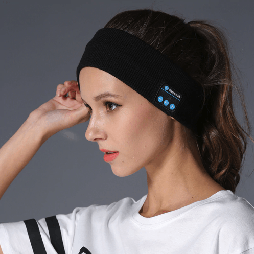 Bluetooth Headband with Bluetooth Microphone and Earpiece