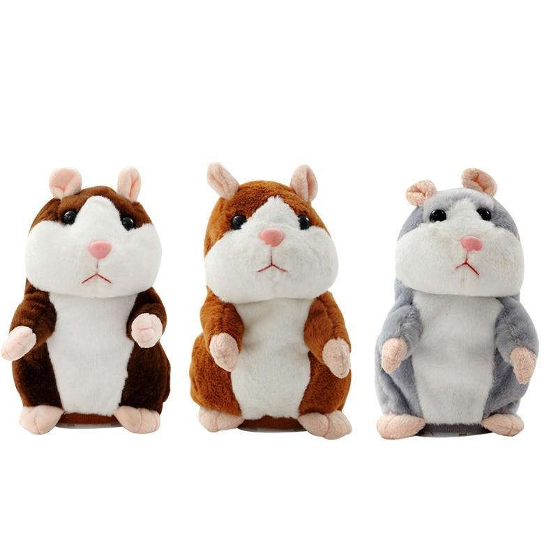 #1 Best Talking hamster Cheeky Repeating Cute Plush Toy Christmas Gift