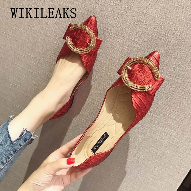 Designer shoes women luxury flat shoes woman flats loafers