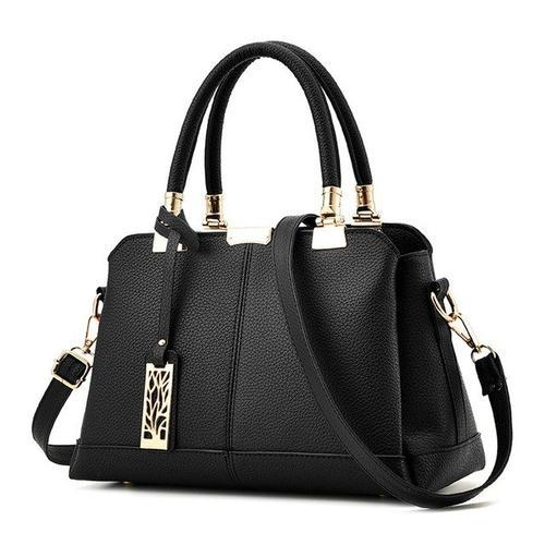 Uptown Satchel with Removable Crossbody Strap