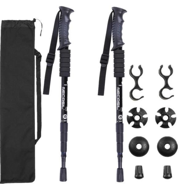 2pcs/lot Trekking Poles Hike Walking Stick Nordic Walking Cane