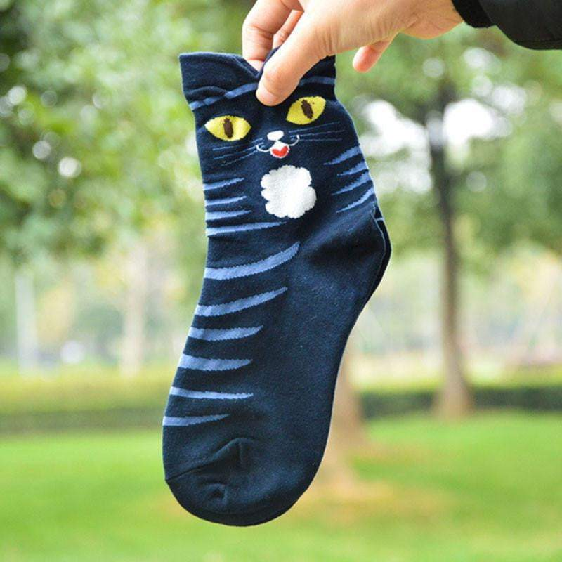 Hot Cartoon Animal Stripped Cotton Socks