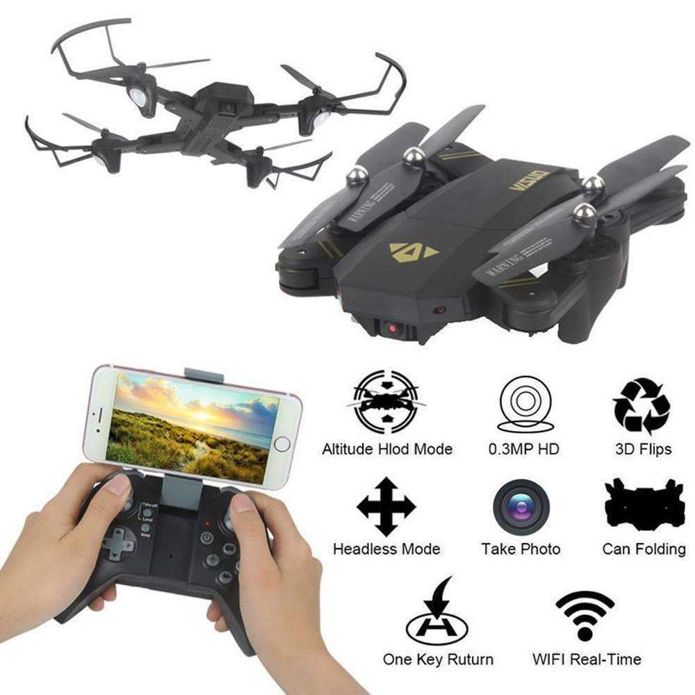 Mini Foldable Selfie Drone - Great Choice for Drone Fans!