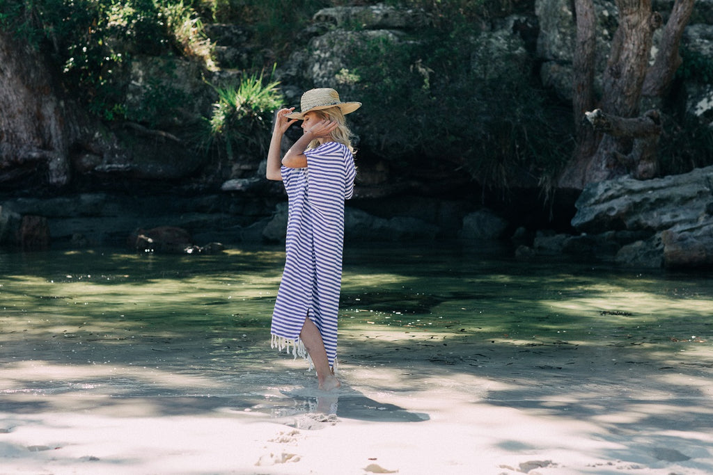 The softest Turkish Towel Beach Ponchos