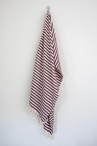 Perfect Beach Towel Burgundy