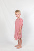 Kids Beach Poncho_Crimson