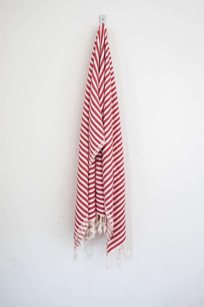 Perfect Beach Towel Crimson