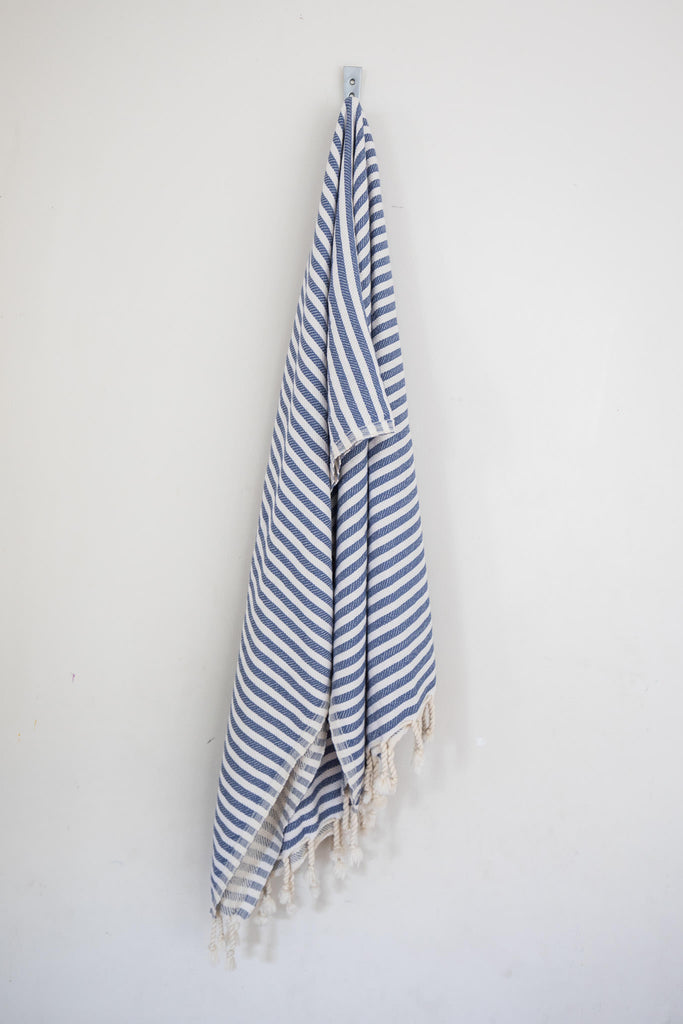 Perfect Beach Towel Denim Blue