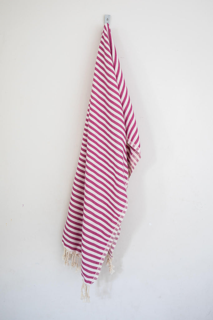 Perfect Beach Towel Fuschia