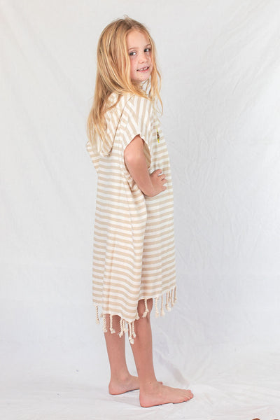 Kids Beach Poncho_Sand