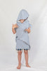 Kids Beach Poncho_Denim Blue