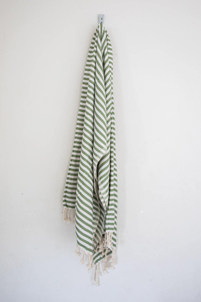 Perfect Beach Towel Olive