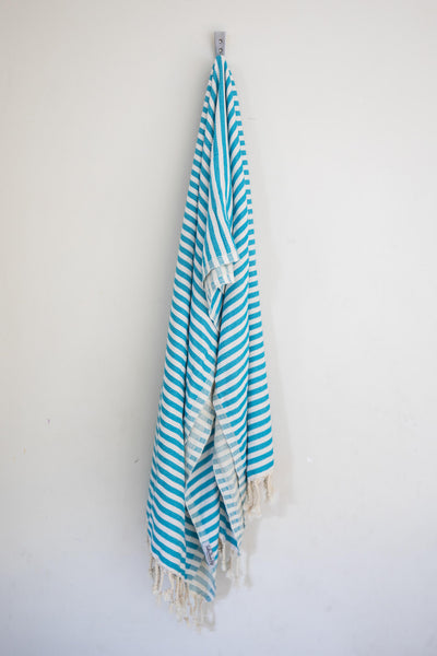 Perfect Beach Towel Turquoise