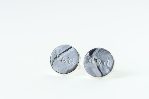 Handcrafted Polymer Clay- Cufflinks