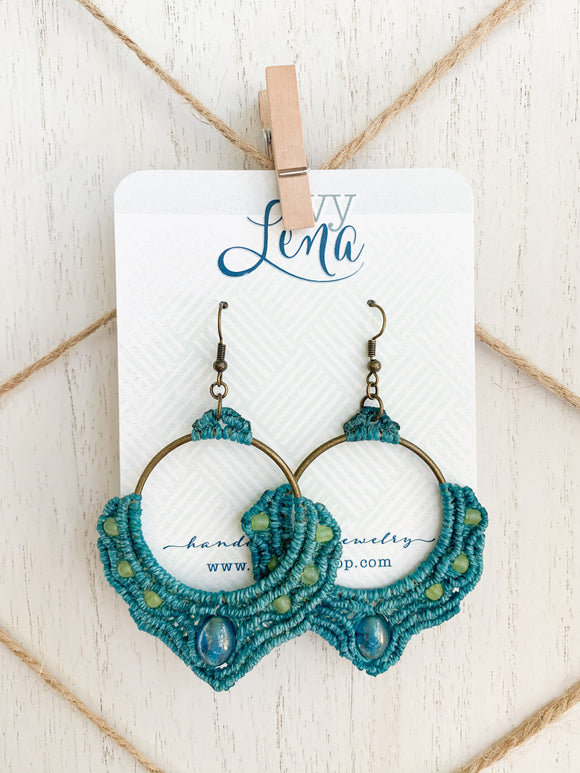 Handcrafted Macrame Earrings