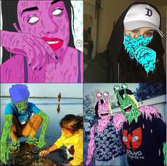 DRAW ME INTO GRIME ART