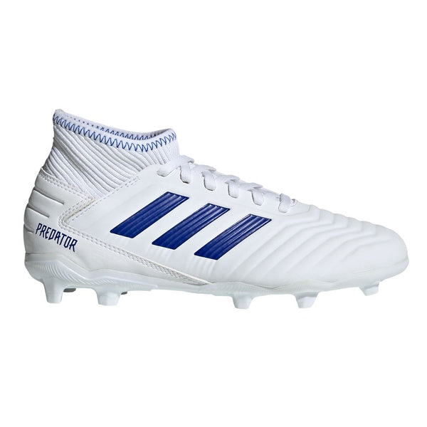 Adidas Predator 19.3 Youth  FG - White