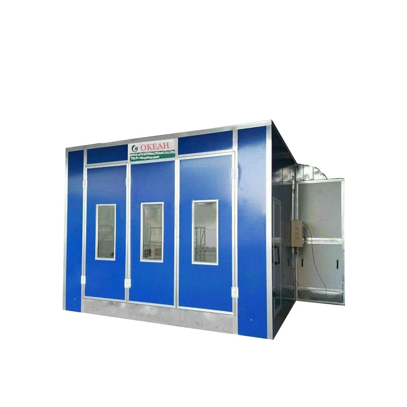 Good Price Car Paint Cabin Spray Booth Oven with exhaust fan 5.5kw /7.5kw
