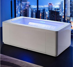1700 Whirlpool Colored Lamp  Bathtub with Hydromassage