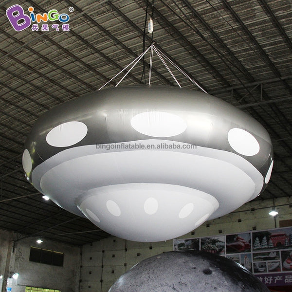 8 Foot Inflatable Sealed UFO Balloon - high quality PVC made decoration