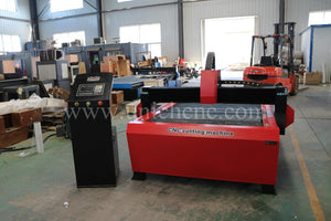 Cost effective g code cnc plasma cutting machine with start control system