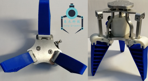 Bionic flexible manipulator fin effect mechanical claw