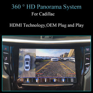 2016 Panoramic 360 Degree Parking Assistance System for Car