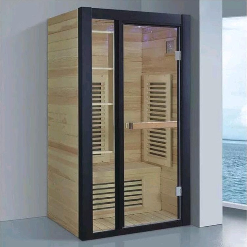 Package mail far-infrared sauna room commercial dry evaporate household sauna bathroom wet evaporate sauna furnace khan steam ro