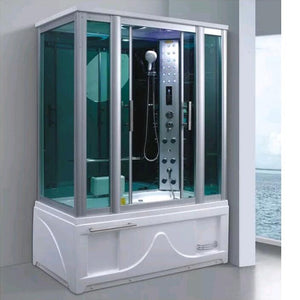 New package mail multifunctional whole rectangle steam bath room with modern bathroom shower room