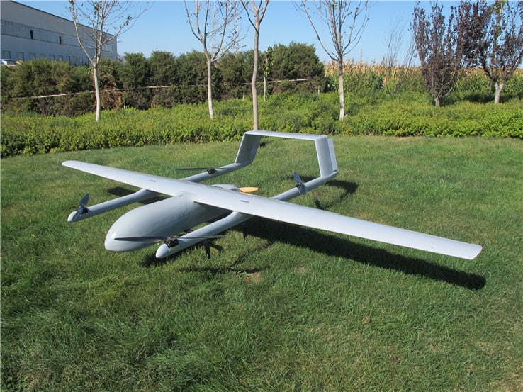 New Mugin 4580mm H-Tail VTOL UAV Platform Frame Kit