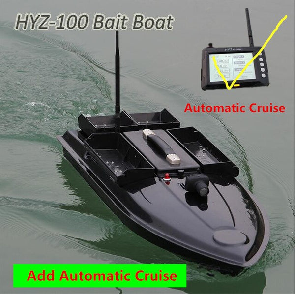 Remote Control Fishing Boat 7KG Bait Load 500M 4 Line 4 Bait Bin RC Distance Potable Rivers Sea RC Bait Boat Add GPS Fish Finder