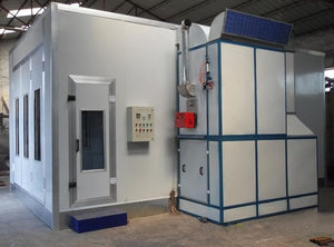 Diesel Heating Painting Room Spray Booth  Spray Cabin  Paint Oven For Car For Funiture and Other Workpieces