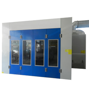 Advanced High Quality CE And ISO Approval Car Paint Spray Booth Spray Oven Cabin Room