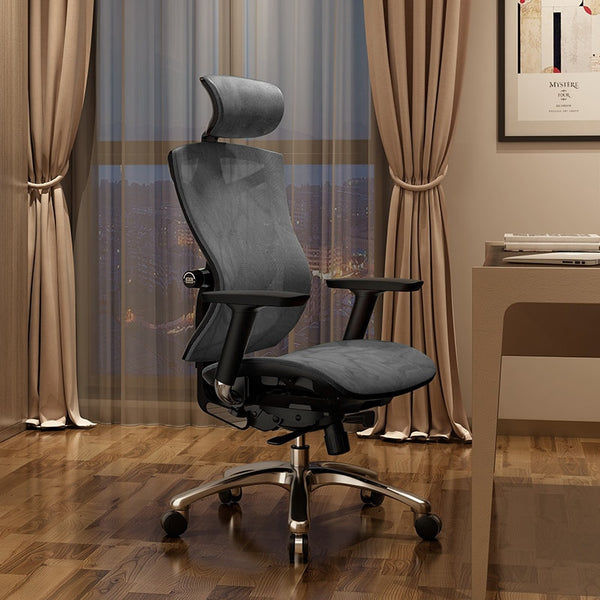 Ergonomic Computer Chair Home Waist Engineering Office Chair  E-sports Seat Human Bionic Design Multi-function Adjustment Silla