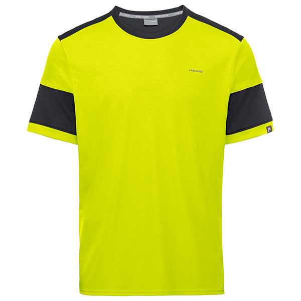 Head Volley T-shirt Yellow/Black